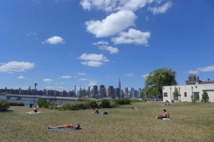 Greenpoint riverfront park