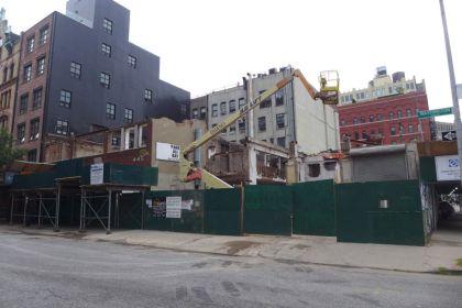 455 Washington demolition