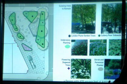 Bogardus Park plantings