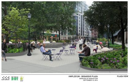 Bogardus Park rendering