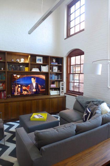 Desbrosses loft living room