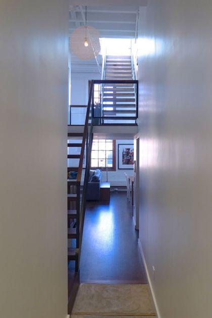 Desbrosses loft staircase