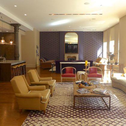 Franklin Loft living area