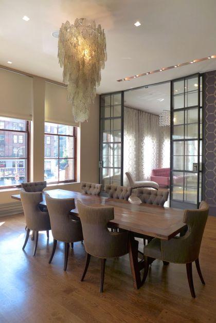 Franklin loft dining table