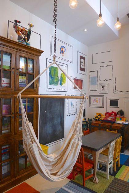 Franklin loft kids play area