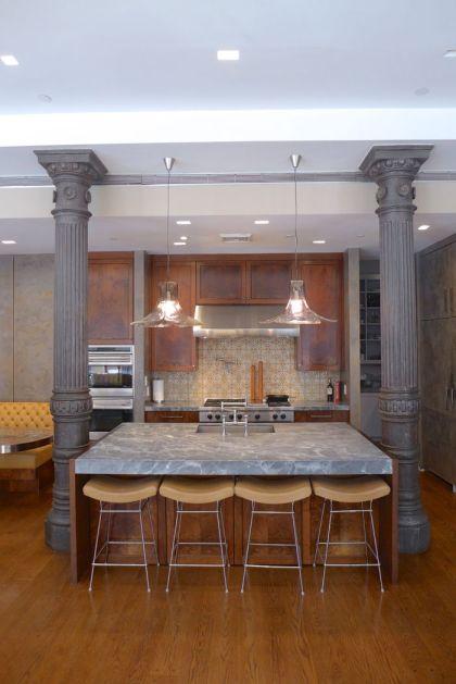 Franklin loft kitchen