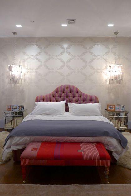 Franklin loft master bedroom