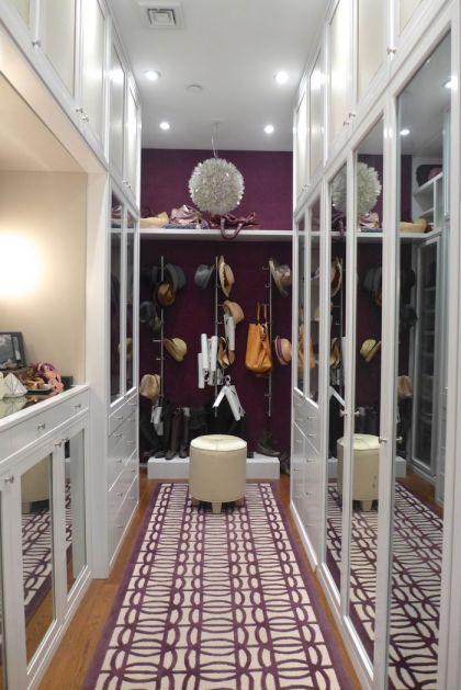 Franklin loft master closet