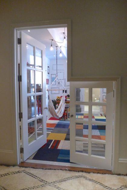 Franklin loft play area door