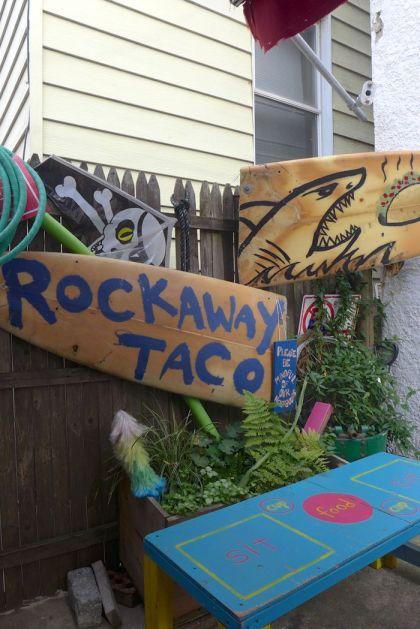 Rockaway Taco seating