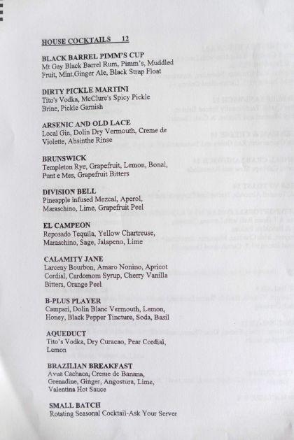 Tara of Tribeca menu3