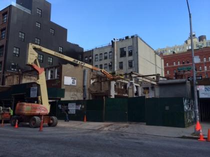 Washington Street demolition