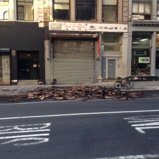 charred boxes 392 Broadway