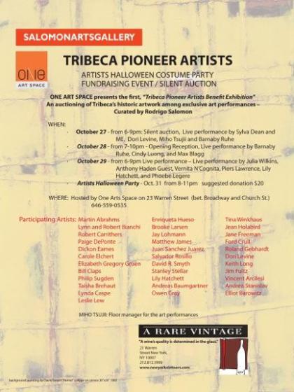 Tribeca pioneer show