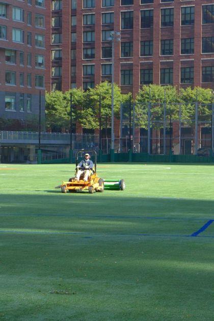 ballfield mower