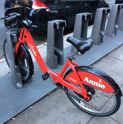 Annie Citi Bike