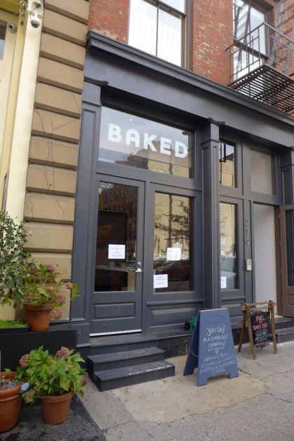 Baked facade