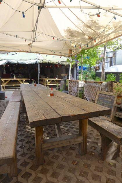 Bushwick Robertas garden seating