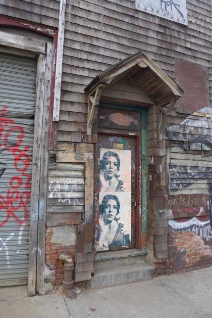 Bushwick door