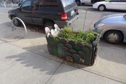 Bushwick skateboard planter