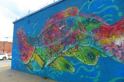 Bushwick street art mural