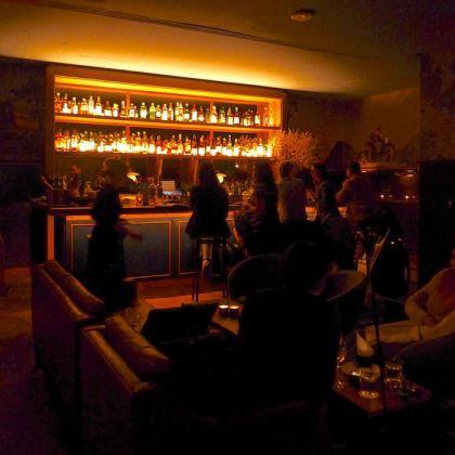 Evening Bar room