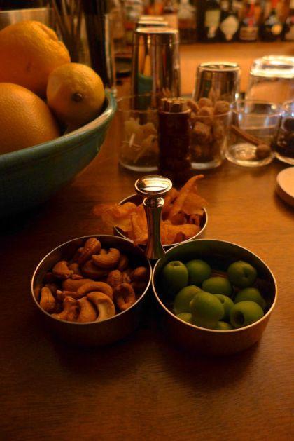 Evening Bar snacks
