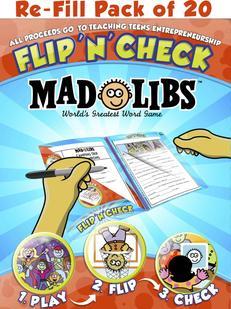Flip N Check Mad Libs