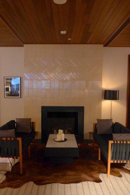 Smyth Library fireplace