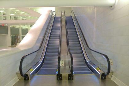 World Trade Center West Corridor escalators