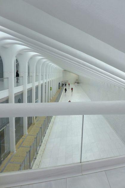 World Trade Center West Corridor from catwalk
