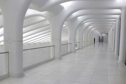 World Trade Center West Corridor upper level