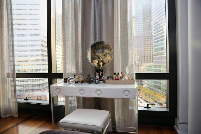 Lora Appleton dressing table by Nicole Bengiveno courtesy NYT