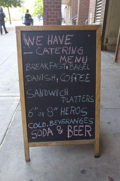 beveranges at Tribeca Deli
