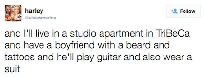 tweet boyfriend in a suit