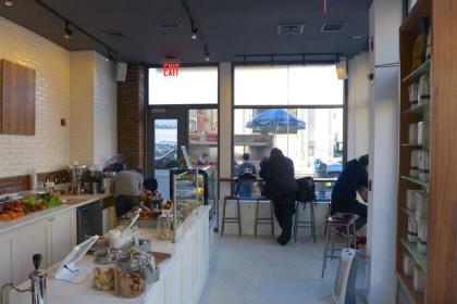 Cafe Bari room