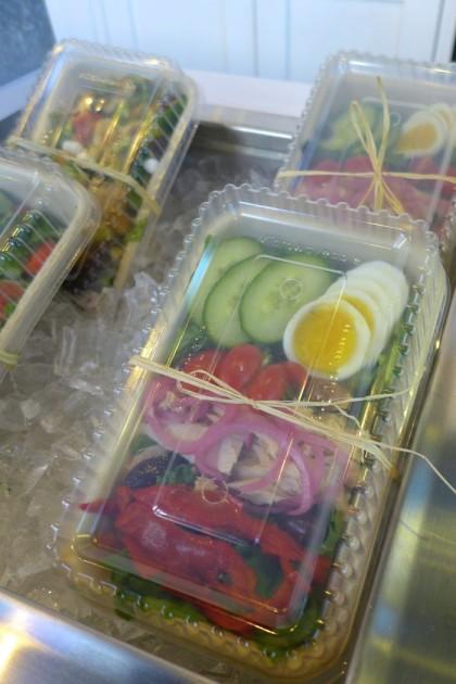 Cafe Bari salads