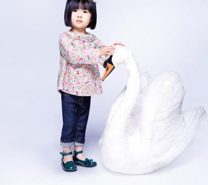 Jacadi toddler with swan