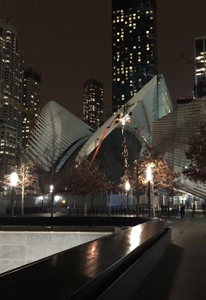 WTC Transportation Hub sparks