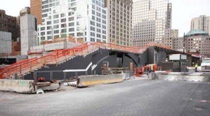 World Trade Center Vehicular Security Center courtesy WTCProgress