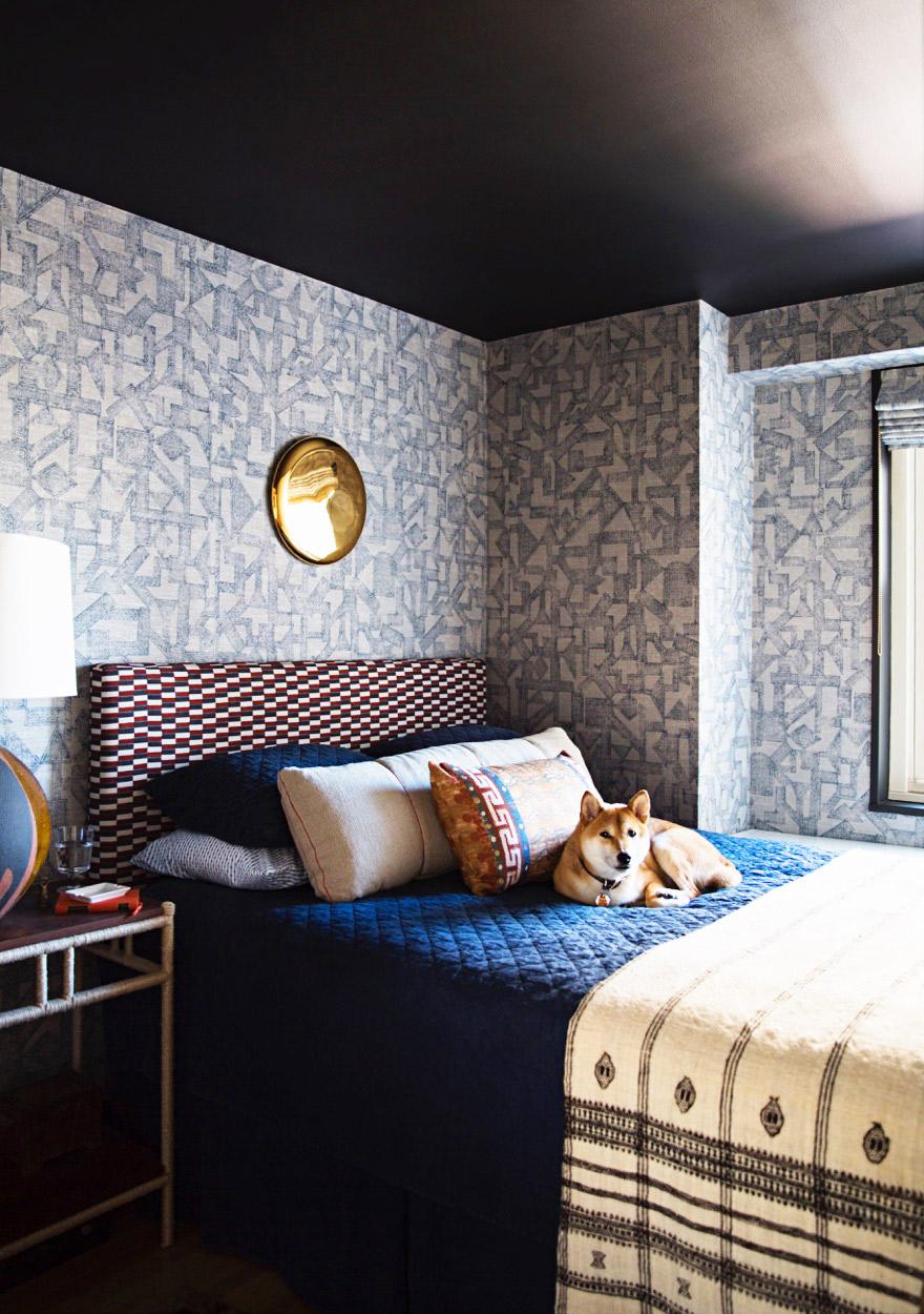 Zak Profera bedroom by Brittany Ambridge for Domino