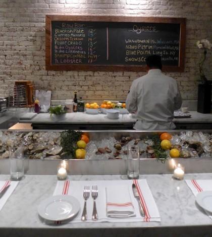 Almond oyster bar