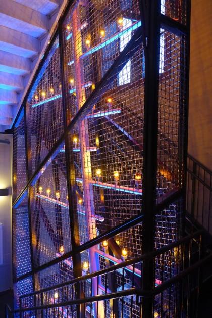 Pier a staircase
