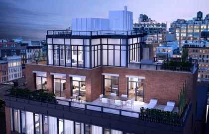 15 Leonard penthouse rendering