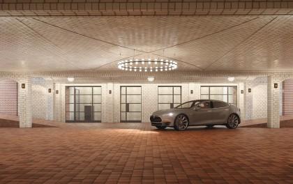 443 Greenwich garage