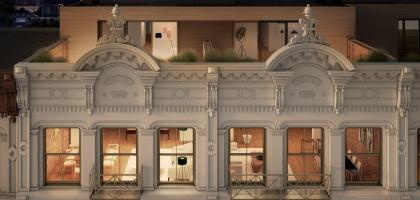 60 White rendering