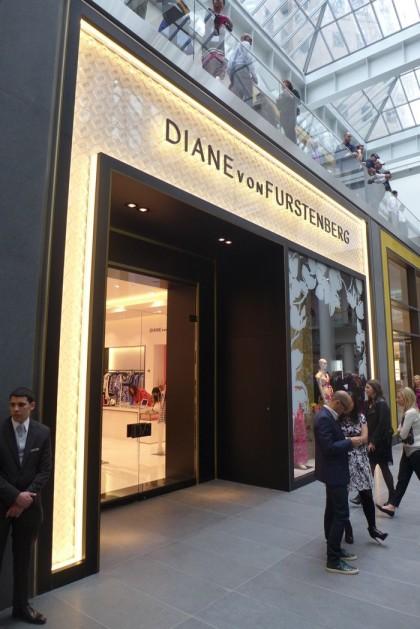 Diane Von Furstenberg at Brookfield Place