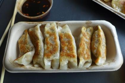 Northern Eats mushroom dumplings