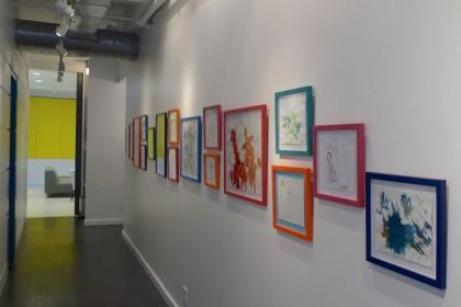 Washington Market Pediatrics hallway