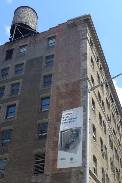 Hudson Square banner